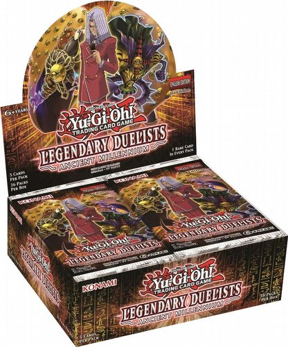Yu-Gi-Oh: Legendary Duelists - Ancient Millennium Booster Box [1st Edition]