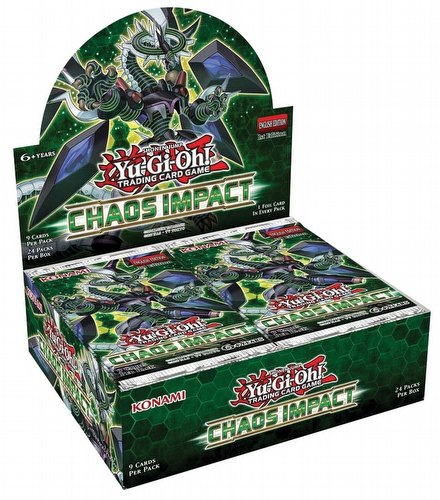 Yu-Gi-Oh: Chaos Impact Booster Box [1st Edition]