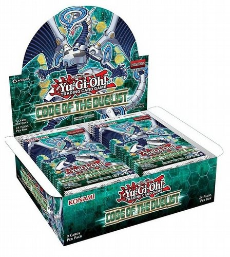Yu-Gi-Oh: Code of the Duelist Booster Box [1st Edition]