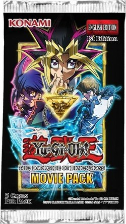 Yu-Gi-Oh: The Dark Side of Dimensions Movie Pack Booster Box