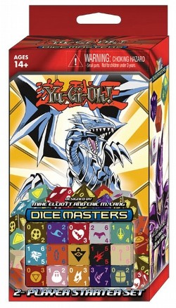 Yu-Gi-Oh! Dice Masters: Series One (Series 1) Dice Building Game 2-Player Starter Set Box