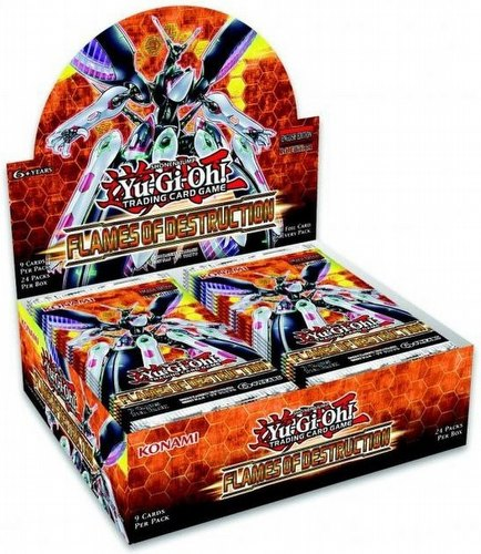 Yu-Gi-Oh: Flames of Destruction Booster Box [1st Edition]