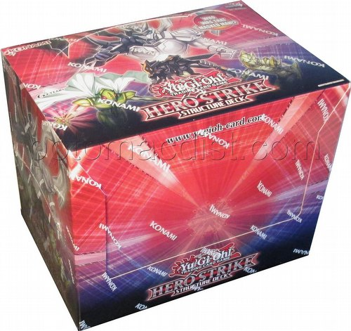 Yu-Gi-Oh: Hero Strike Structure Deck Box
