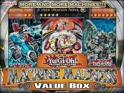 Yu-Gi-Oh: Machine Madness Value Box