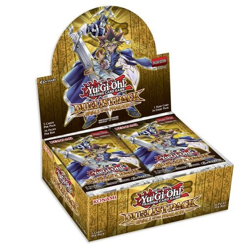 Yu-Gi-Oh: Duelist Pack - Rivals of the Pharaoh Booster Case [12 boxes]