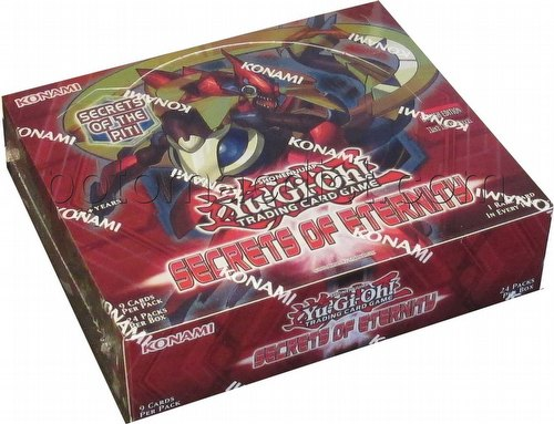 Yu-Gi-Oh: Secrets of Eternity Booster Box [1st Edition]