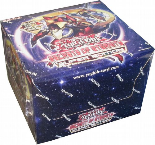 Yu-Gi-Oh: Secrets of Eternity Super Edition Box