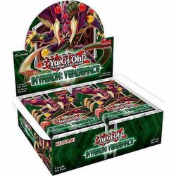 Yu-Gi-Oh: Invasion Vengeance Booster Box [1st Edition]