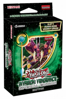 Yu-Gi-Oh: Invasion Vengeance Special Edition Box