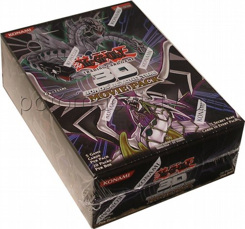 Yu-Gi-Oh: 3-D Bonds Beyond Time Movie Booster Box