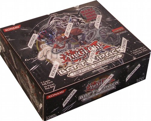 Yu-Gi-Oh: Battle Pack - Epic Dawn Booster Box [1st Edition]