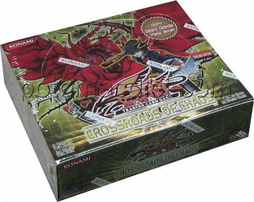 Yu-Gi-Oh: Crossroads of Chaos Booster Box
