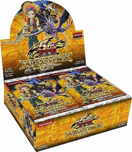 Yu-Gi-Oh: Crow Duelist Pack Booster Box Case [12 boxes]
