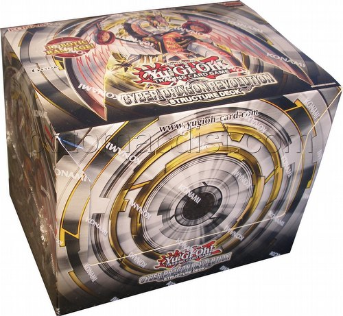 Yu-Gi-Oh: Cyber Dragon Revolution Structure Deck Box