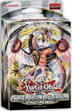 Yu-Gi-Oh: Cyber Dragon Revolution Structure Deck Box Case [12 boxes]