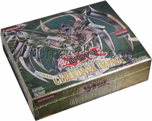 Yu-Gi-Oh: Cyberdark Impact Booster Box [1st Edition]