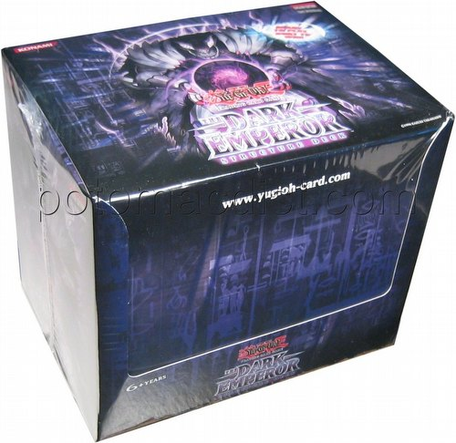 Yu-Gi-Oh: Dark Emperor Structure Starter Deck Box [1st Edition]