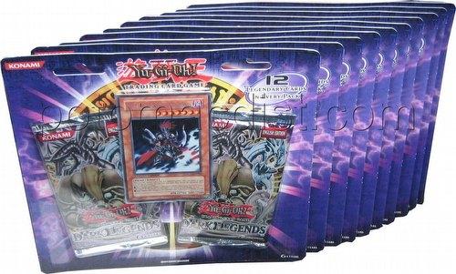 Yu-Gi-Oh: Dark Legends Blister Booster Pack Lot [10 blisters]