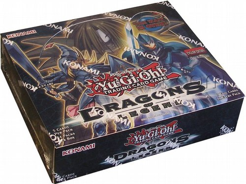 Yu-Gi-Oh: Dragons of Legend Booster Box [1st Edition]