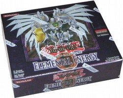 Yu-Gi-Oh: Elemental Energy Booster Box [1st Edition]