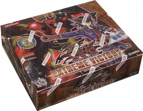 Yu-Gi-Oh: Extreme Victory Booster Box [1st Edition]