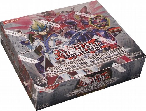 Yu-Gi-Oh: Galactic Overlord Booster Box [1st Edition]