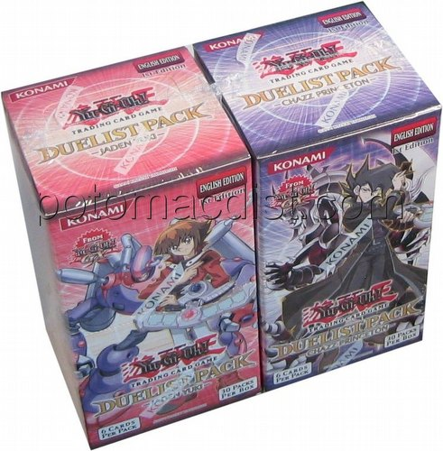 Yu-Gi-Oh: GX Jaden/Chazz Duelist Pack Booster Box Combo [1st Edition]