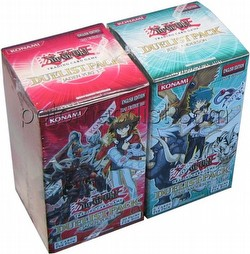 Yu-Gi-Oh: GX Jaden Yuki 3/Jesse Anderson Duelist Pack Booster Box Combo [1st Edition]