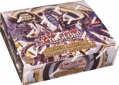 Yu-Gi-Oh: Hidden Arsenal 7: Knight of Stars Booster Box