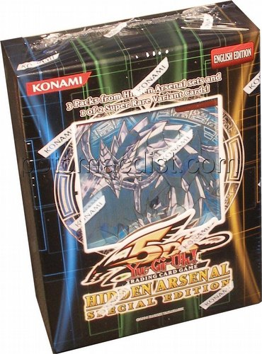 Yu-Gi-Oh: Hidden Arsenal Special Edition Pack