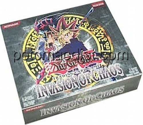 Yu-Gi-Oh: Invasion of Chaos Booster Box [Unlimited/Hobby]