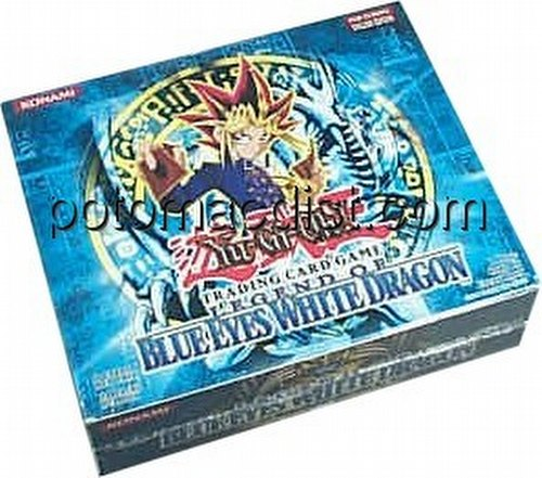 Yu-Gi-Oh: Legend of Blue Eyes White Dragon Booster Box[Unlimited/European Edition]