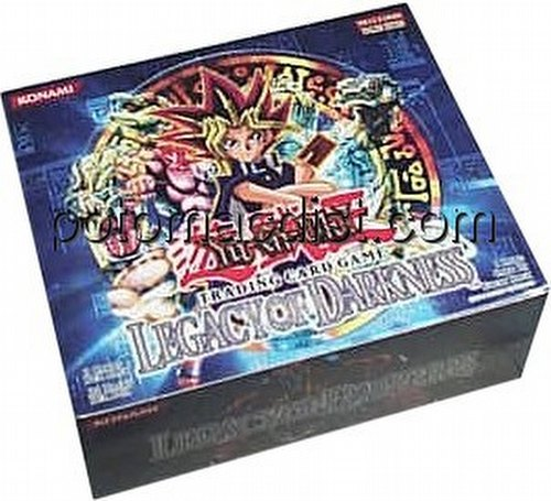 Yu-Gi-Oh: Legacy of Darkness Booster Box [Unlimited/36 packs]