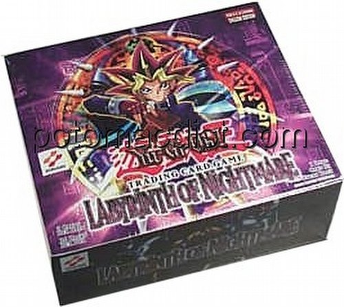 Yu-Gi-Oh: Labyrinth of Nightmare Booster Box [Unlimited/36 packs]