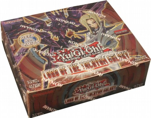 Yu-Gi-Oh: Lord of the Tachyon Galaxy Booster Box [Unlimited Edition/European Edition]