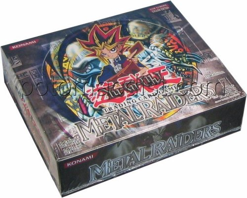Yu-Gi-Oh: Metal Raiders Booster Box [1st Edition/European]
