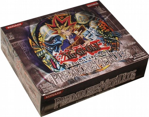Yu-Gi-Oh: Metal Raiders Booster Box [1st Edition/Portuguese]