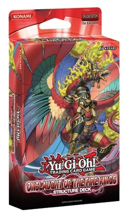 Yu-Gi-Oh: Onslaught of the Fire Kings Structure Deck Box Case [1st Edition/12 boxes]