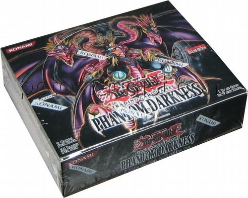 Yu-Gi-Oh: Phantom Darkness Booster Box [Unlimited]