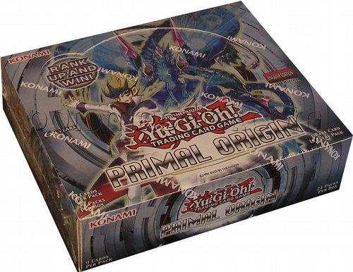 Yu-Gi-Oh: Primal Origin Booster Box [1st Edition]