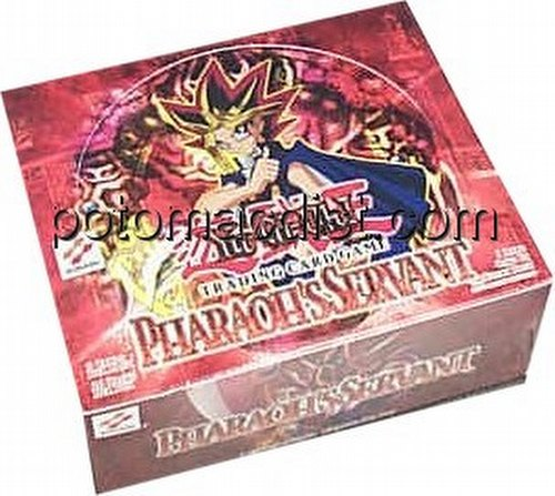 Yu-Gi-Oh: Pharaohs Servant Booster Box [1st Edition/[36 packs]