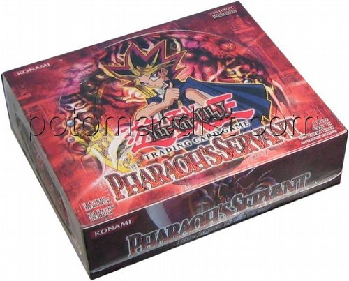 Yu-Gi-Oh: Pharaohs Servant Booster Box [Unlimited/European Edition]