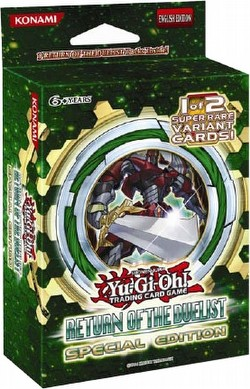 Yu-Gi-Oh: Return of the Duelist Special Edition Box Case [12 boxes]