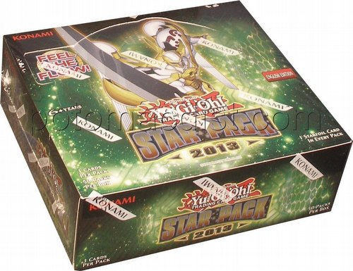 Yu-Gi-Oh: Star Pack 2013 Booster Box [Unlimited]