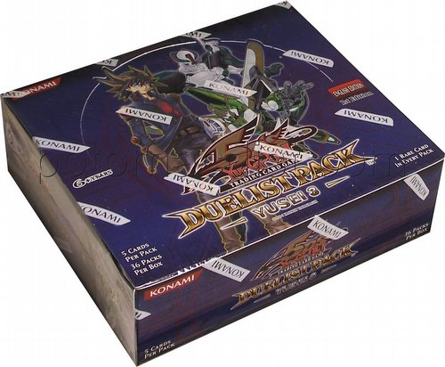 Yu-Gi-Oh: Yusei 3 Duelist Pack Booster Box [1st Edition]