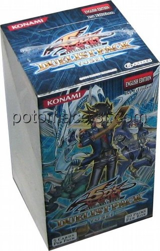 Yu-Gi-Oh: Yusei Duelist Pack Booster Box [1st Edition]