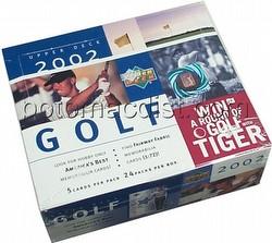 02 2002 Upper Deck Golf Cards Box