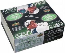2003 Upper Deck Golf Cards Box [Retail]