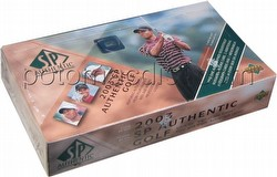 2003 Upper Deck SP Authentic Golf Cards Box [Hobby]