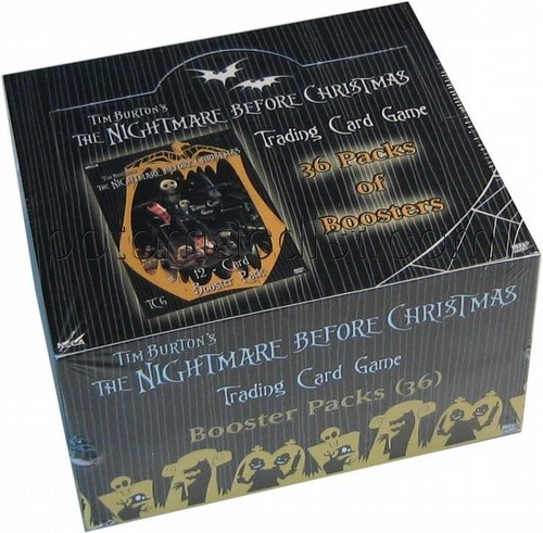 Nightmare Before Christmas Movie Retail Card Box 36ct
